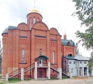 северная сторона храма