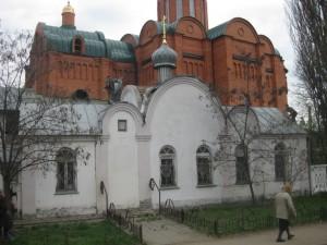храм-часовня во имя Архистратига Михаила май 2011